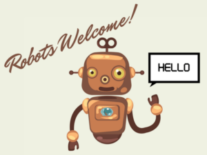 Robots welcome to seo-friendly website